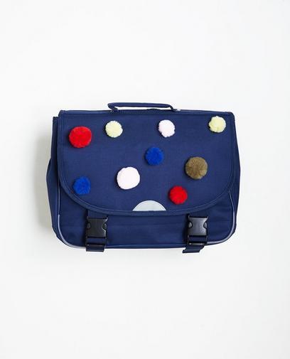 Nachtblaue Schultasche